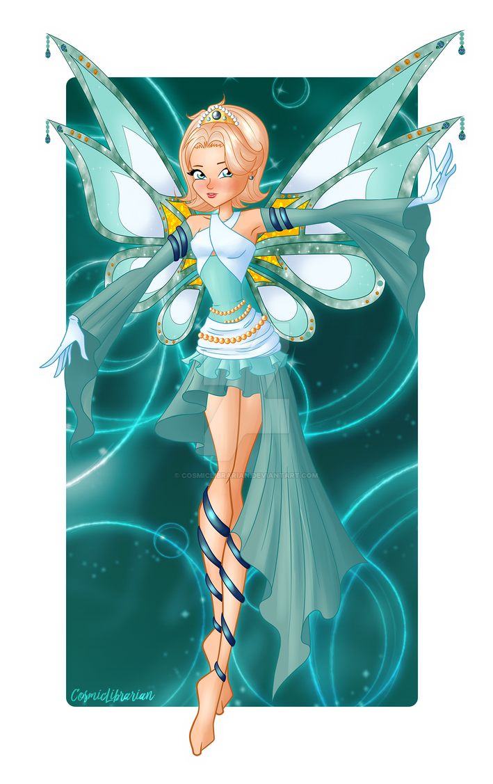 [Winx] A True Fairy. Margaret by CosmicLibrarian