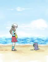 Pokemon - Missingno Encounter by Porrie