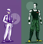 Human Dragon Ball Villains