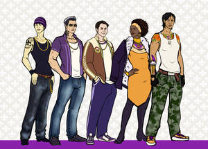 Saints Row Undercover Character Lineup