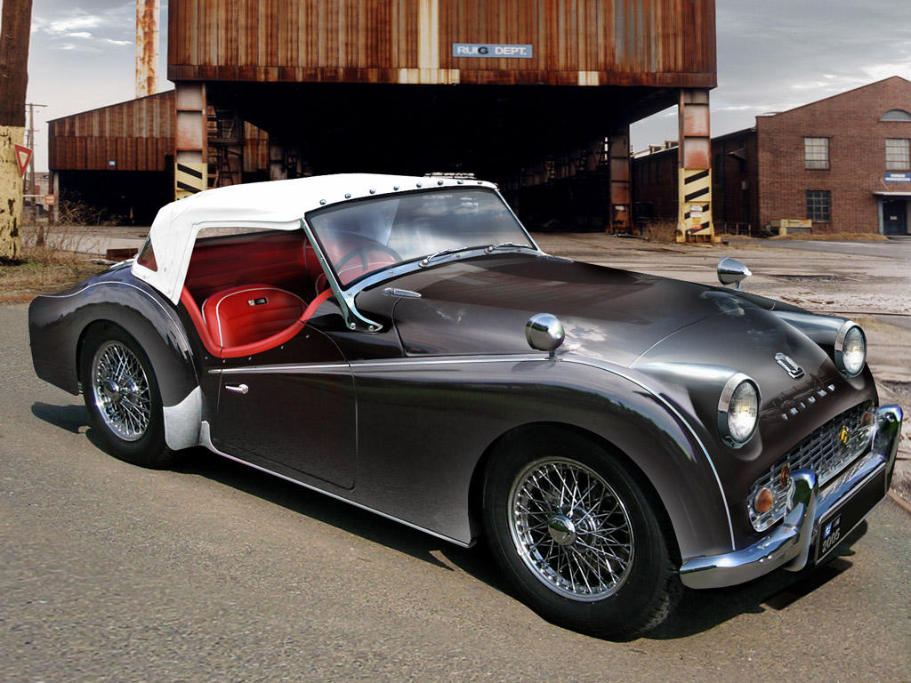 Triumph Tr3A by ~RuiG on