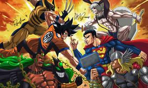 Clash of the superhero titans