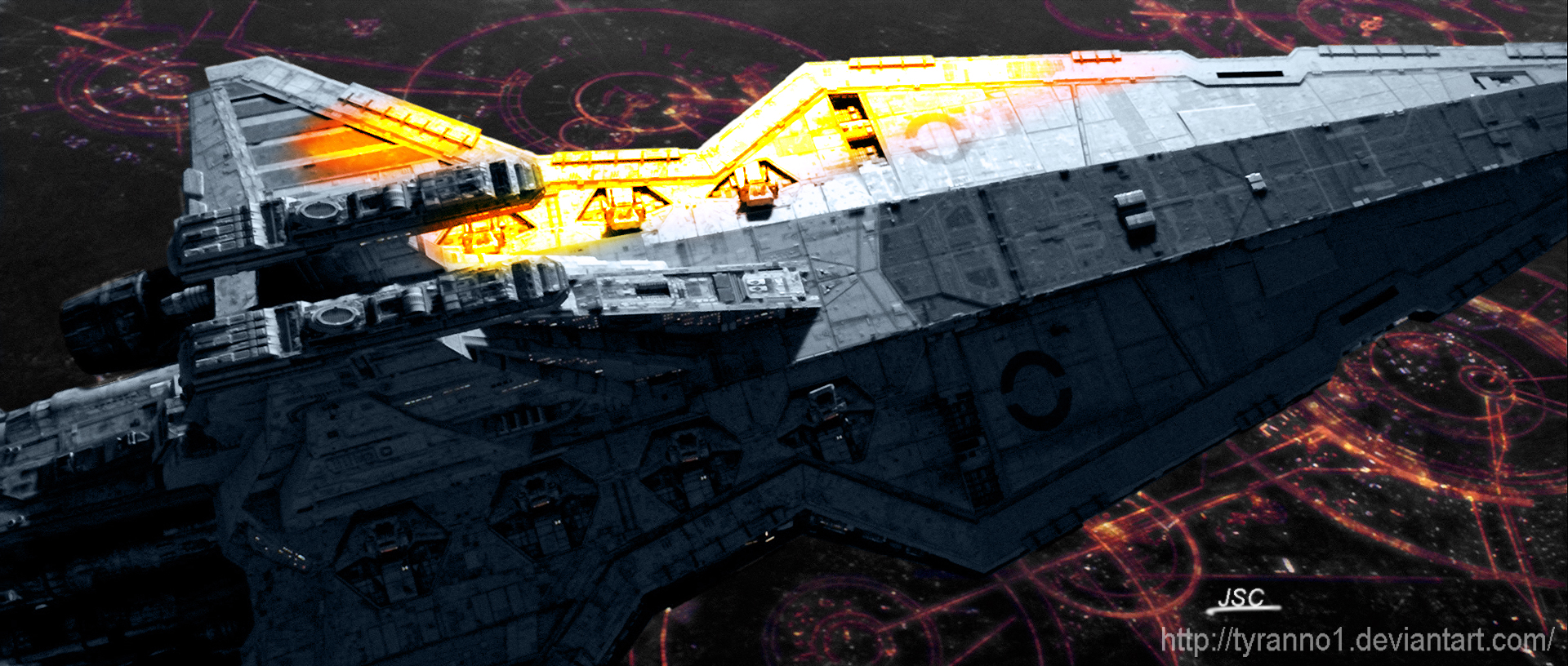 Sw Bf Crossover Battle Over Coruscant 1 By Tyranno1 On Deviantart