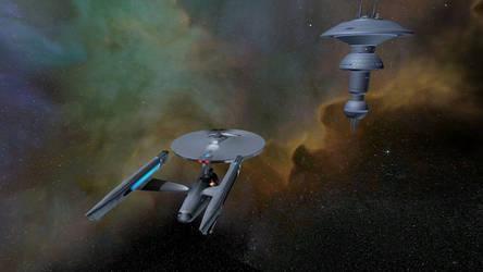Star Trek Legacy Screenshot 5 Constitution by Tyranno1