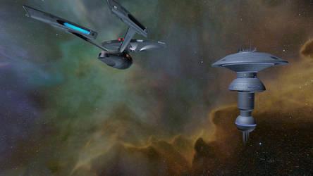 Star Trek Legacy Screenshot 6 Constitution by Tyranno1