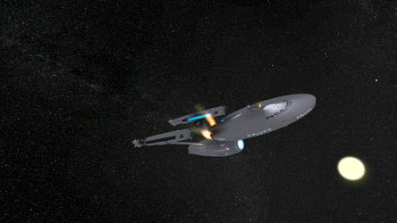 Star Trek Legacy Screenshot 10 Enterprise by Tyranno1