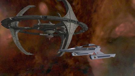 Star Trek Legacy Screenshot 13 DS9/Miranda by Tyranno1