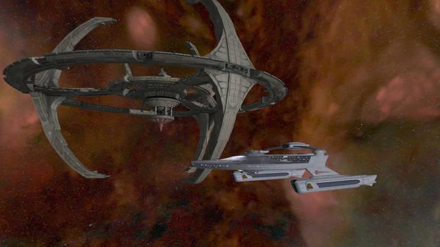 Star Trek Legacy Screenshot 13 DS9/Miranda