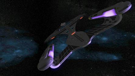 Star Trek Legacy Screenshot 15 Section 31 Galaxy by Tyranno1