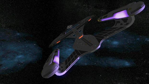 Star Trek Legacy Screenshot 15 Section 31 Galaxy