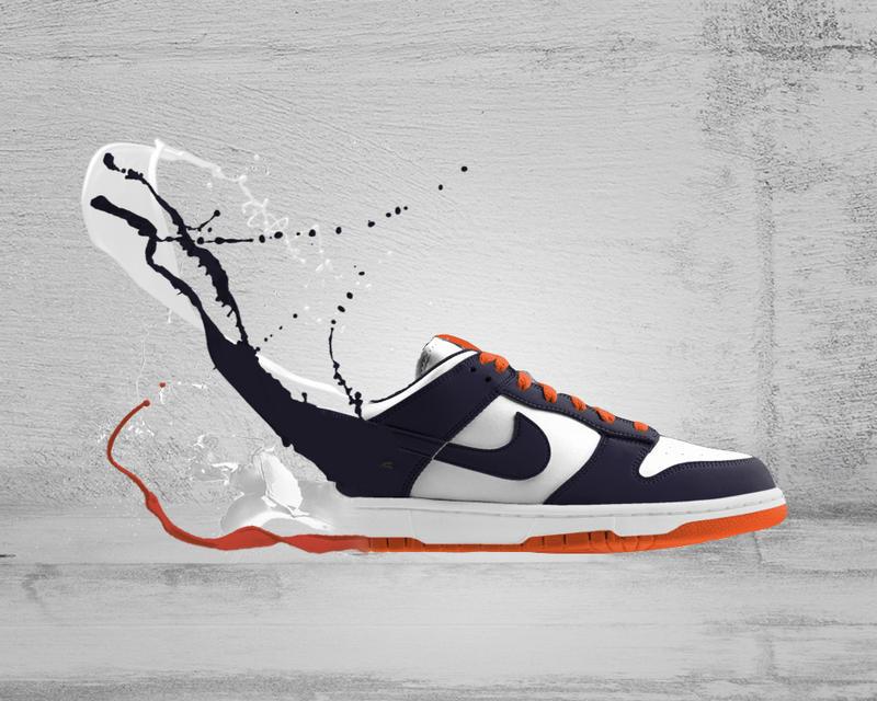 Nike Shoe Photographer Builds Sets