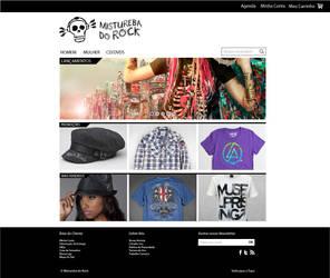 E-Commerce Mistureba do Rock by crossatto