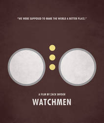 Poster Watchmen Owl by crossatto
