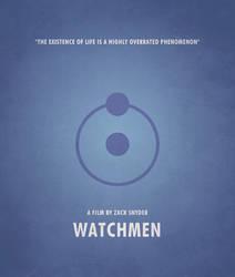 Poster Watchmen Dr Manhattan by crossatto