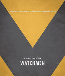 Poster Watchmen Espectral by crossatto
