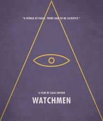 Poster Watchmen Ozymandias by crossatto