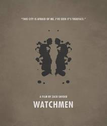 Poster Watchmen Rorscharc by crossatto