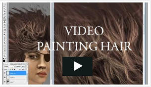 Video - Painting Hair