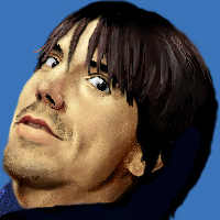 Anthony Kiedis by straycat0224