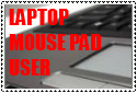 LAPTOP MOUSE PAD USER .:Stamp:. by DibFan4LifeX3