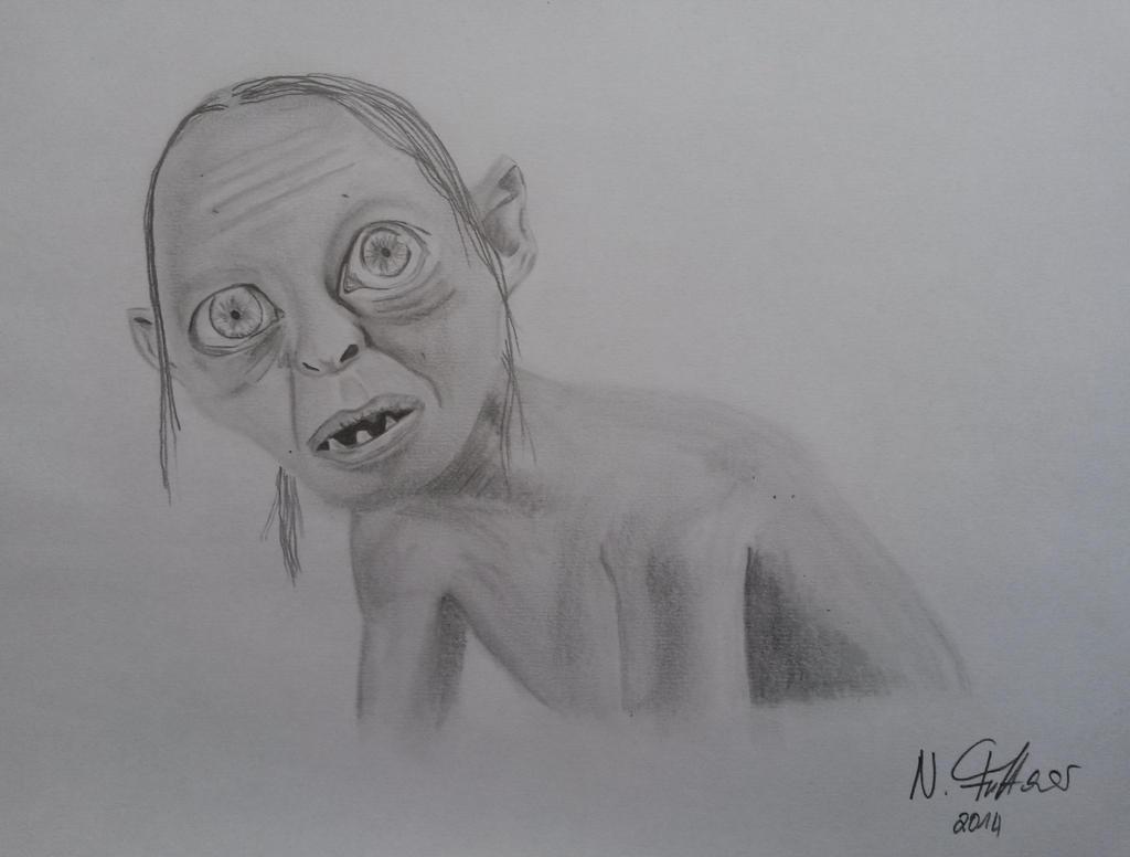 Gollum Drawing
