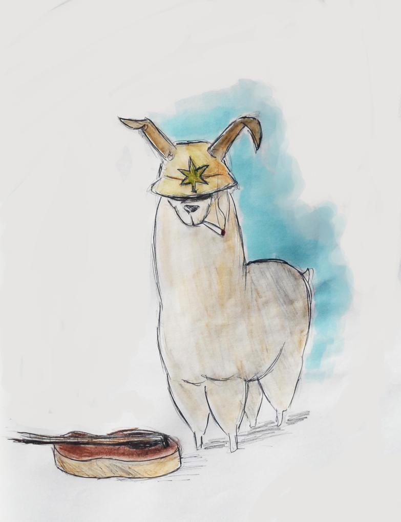 [Dessin] Du frenchnerd et des lamas Frenchllama__2_florent_by_y_oung-d87mnwn