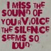I miss the sound... by 8xhx8