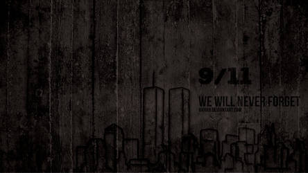 WE WILL NEVER FORGET 9/11 by 8xhx8