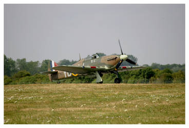 RAF Hurricane 11C BBMF by shotgun-ned