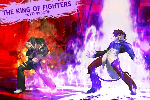 KYO VS IORI 2 KOF XIII CARD by CHARLYDAIMON21King Of Fighters Kyo Vs Iori