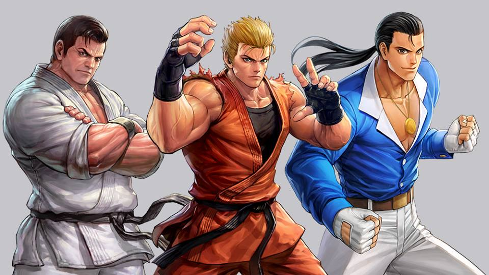 Art Of Fighting Team Kof All Stars By Charlydaimon21 On Deviantart