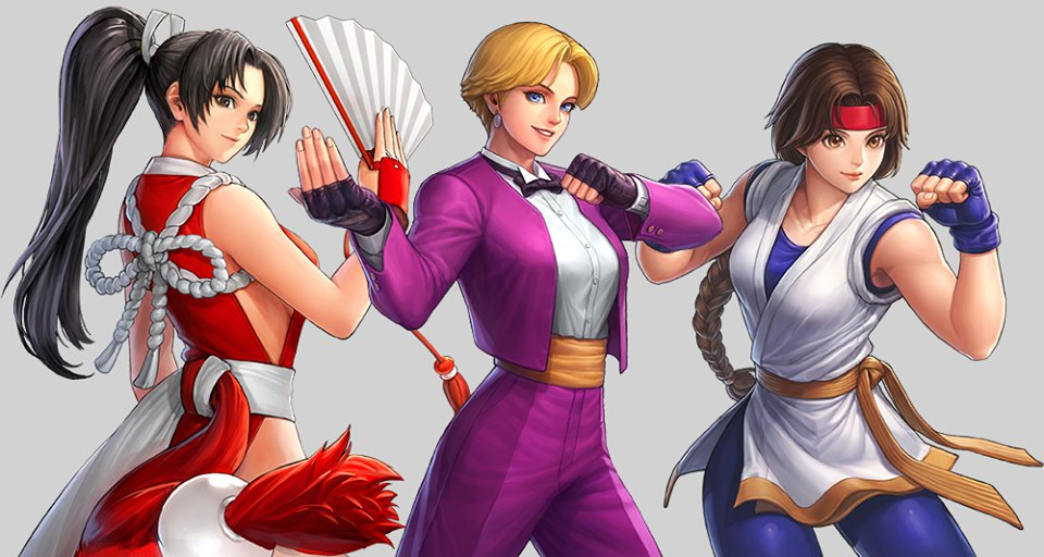 Women Fighters Team Kof All Stars By Charlydaimon21 On
