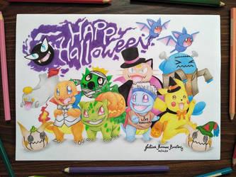 Halloween2017:Pokemon Trick Or Treat Costume Party by JuliusRamosBantog