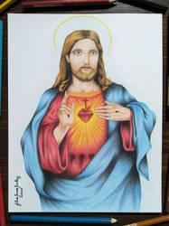 Sacred Heart Of Jesus Nazareth by JuliusRamosBantog