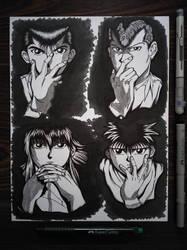 Ghost Fighter: Eugene, Alfred, Dennis and Vincent by JuliusRamosBantog