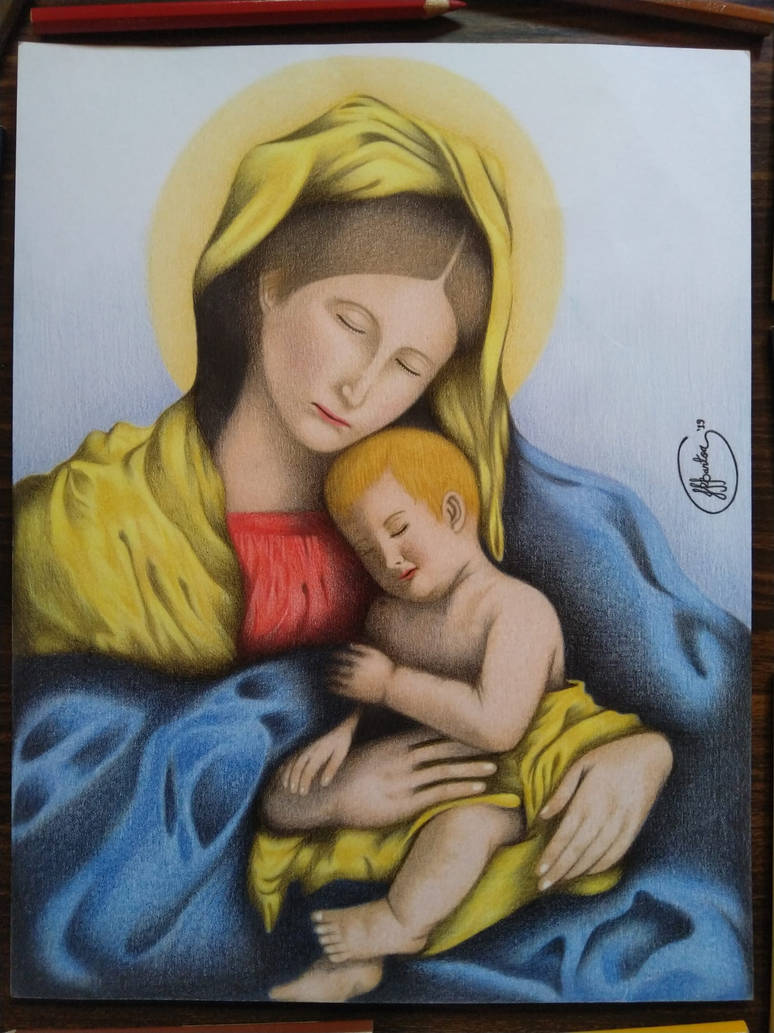 Mother And Child by JuliusRamosBantog