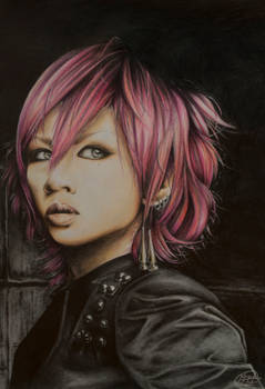 Portrait of Maya from LM.C