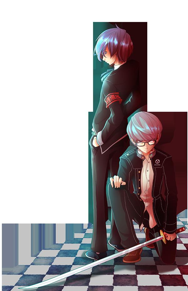 ~Persona's heroes~ by kenyasakura2003
