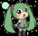 Anime Render #09  -Hatsune Miku-