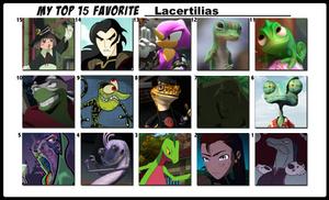 Top 15 Favorite Lacertilias