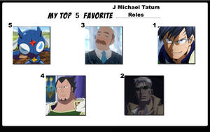 Top 5 Favorite J Michael Tatum Roles