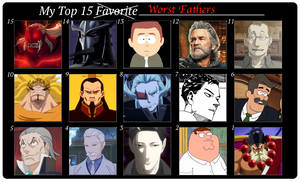 Top 15 Worst Fathers