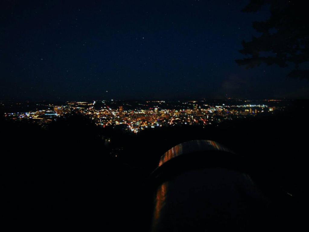 Night Sky // Portland, Oregon by sharkkbones