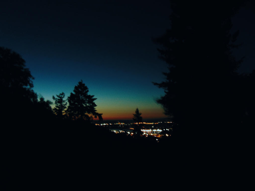 Sunset // Portland, OR by sharkkbones