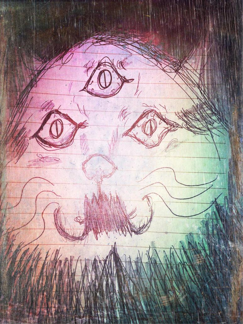 Drain eyes by DanteLosGatos
