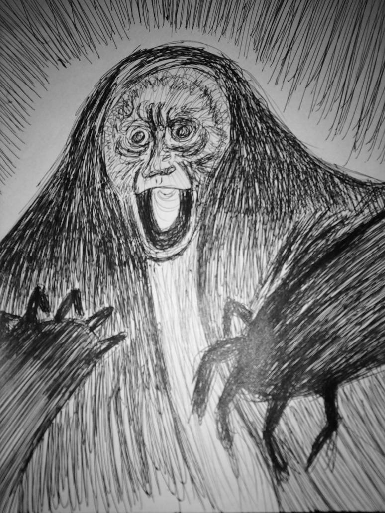 Monkey shade by DanteLosGatos