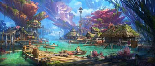 Coral village