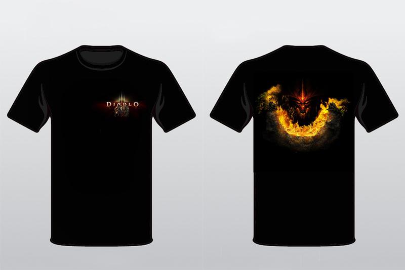 Diablo 3 T-shirt version 2 by alymunibari