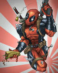Deadpool color sketch