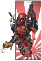 Deadpool t-shirt design by muglo
